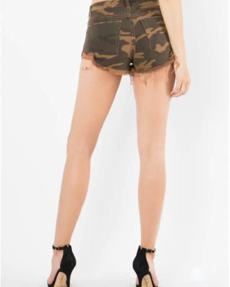 Signature 8 Side Roll-Up Military Shorts (S8133H2)