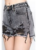 Signature 8 Distressed Denim Shorts (S8306)