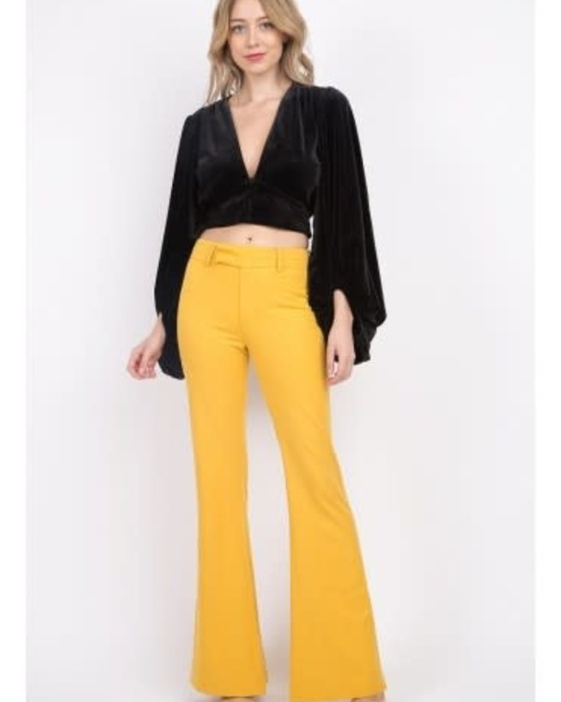 Signature 8 Mid Rise Flared Pants (S8691)