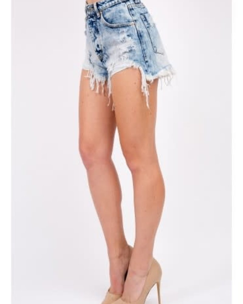 Signature 8 Destoryed High Rise Denim (S8745)