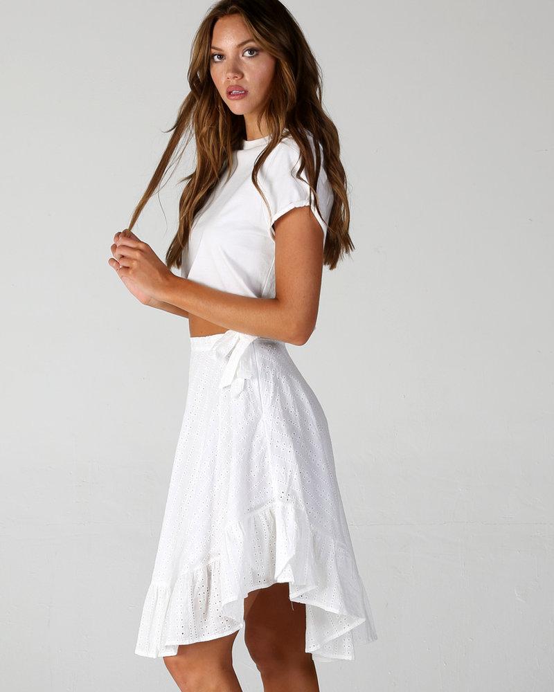Angie All-Over Eyelet Skirt (26N06)