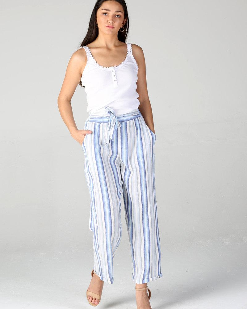 Angie Tie Waist Pants (25R76)