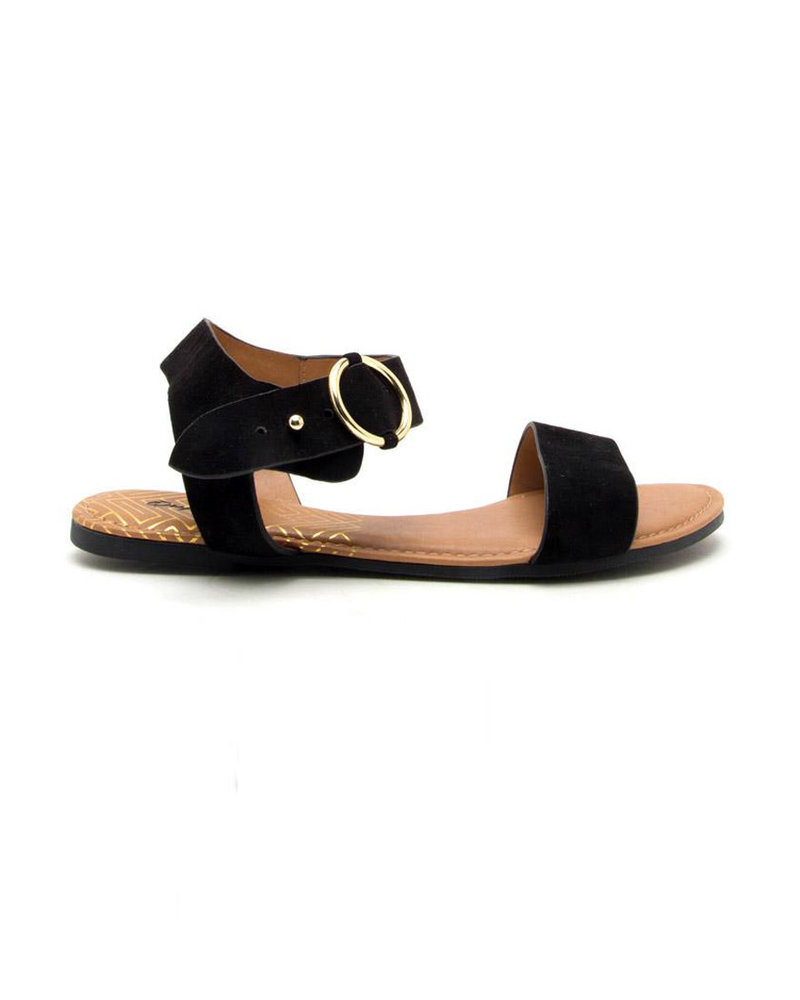 Qupid Qupid One Band Ankle Strap Sandle (Archer-559X)