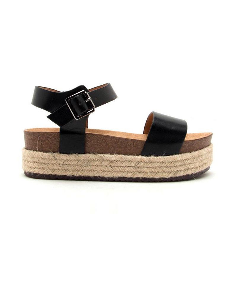 Qupid Qupid One Band Quarter Ankle Strap (Cabo-01)