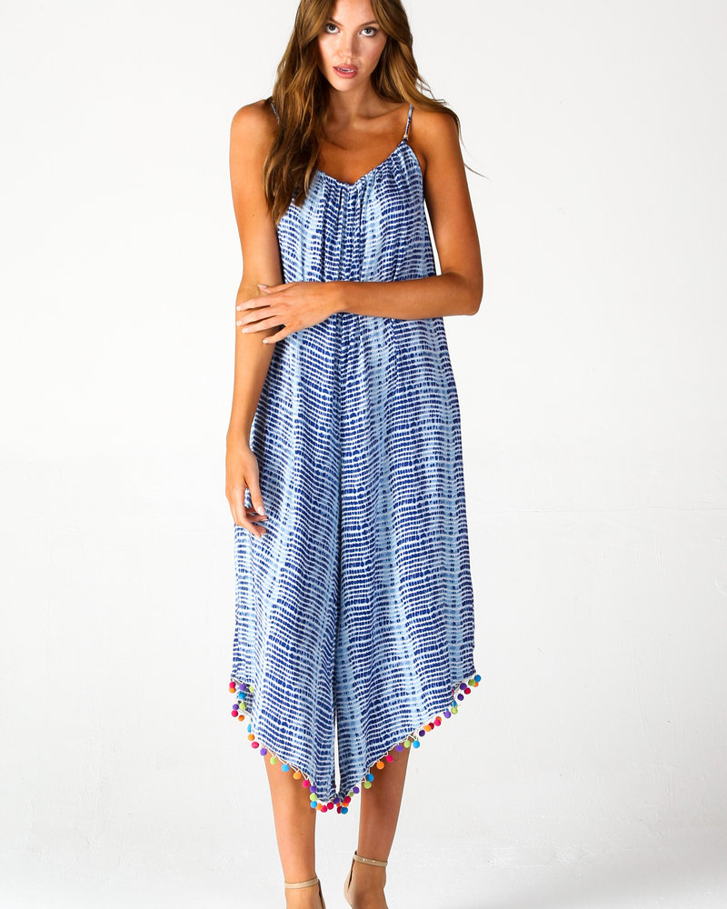 Angie Tie Dye Jumpsuit (Q5S53)
