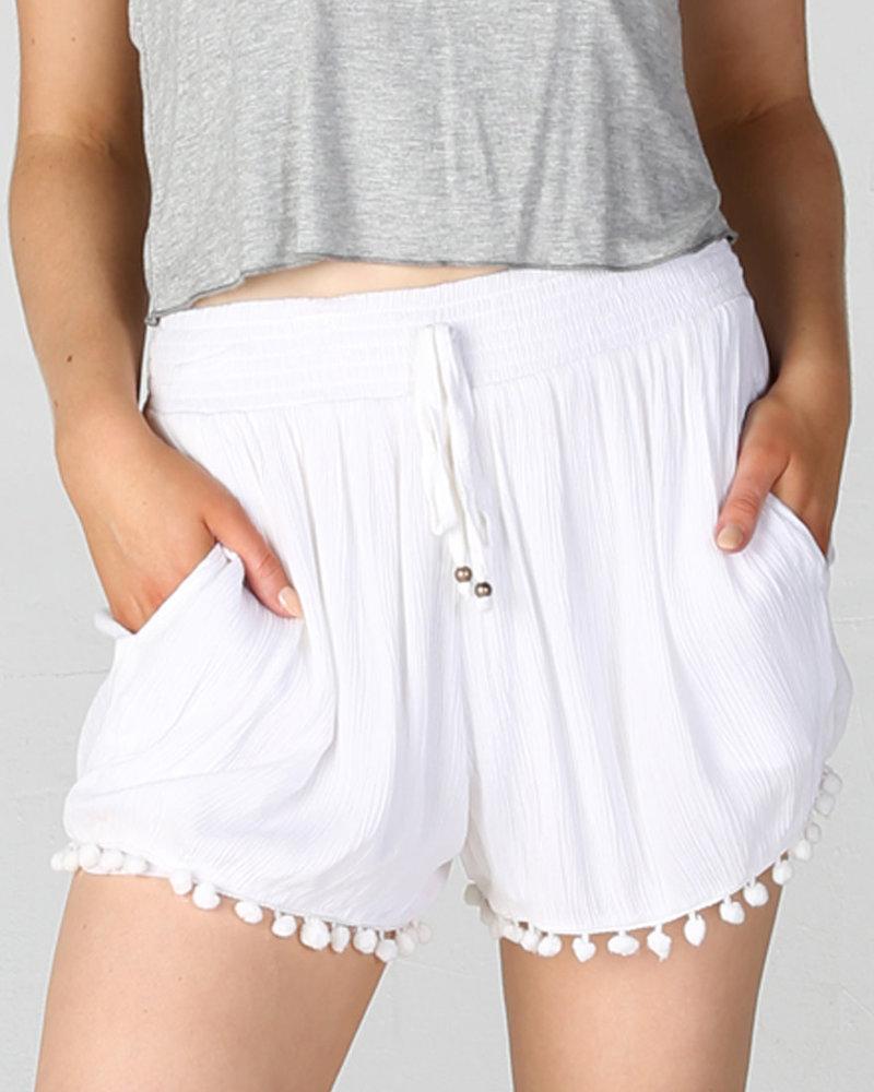 Angie Pompom Shorts (25B26)