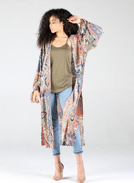 Angie Long Sleeve Kimono (BJ676)