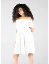 Angie Tiered Dress With Smocking (F4E38)