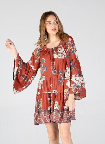 Angie Peasant Dress (B4ZZ4)