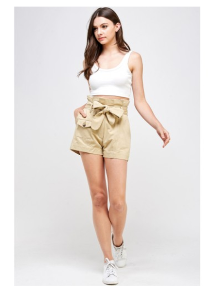 Signature 8 Paperbag Safari Shorts (S8801)