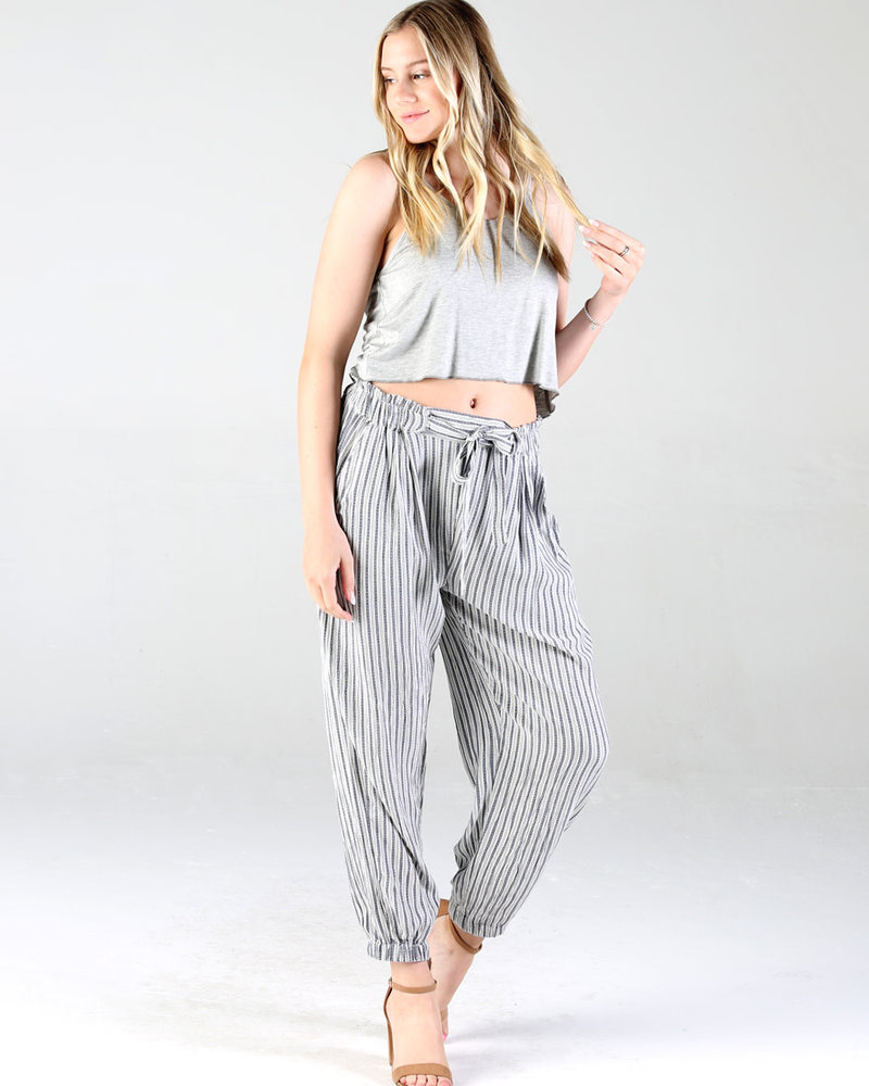 Angie Striped Jogger (25R48)