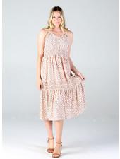Angie Tiered Ruffle Maxi Dress (F4D23)