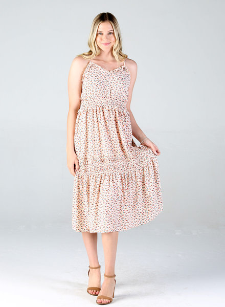 Angie Tiered Ruffle Maxi Dress (F4D23)