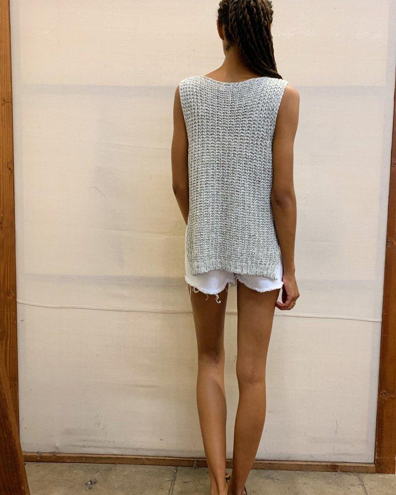 Sleeveless Knit Top (LT12469)