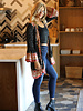 Angie Flare Sleeve Kimono Duster (P2Z66)