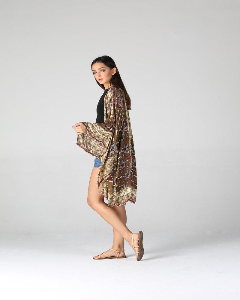 Angie Mid Sleeve Kimono (BJ673)