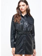 Leather Dress (s3349)