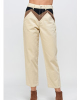 Signature 8 Color Block Twill Pants (S8852)