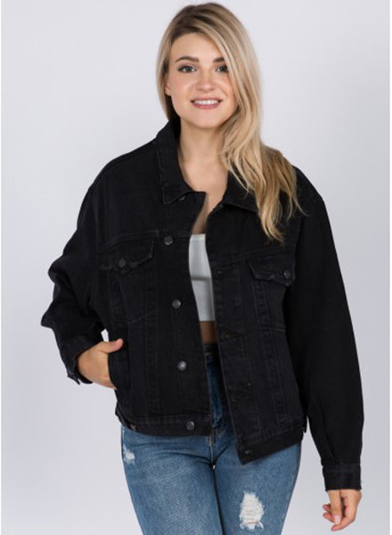 Signature 8 Oversized Denim Jacket (S5645)