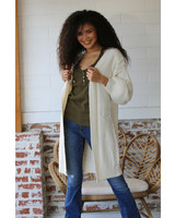 Copy of Angie Chuncky Knit Cardigan With Baloon Sleeves (XHD68)