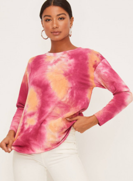 Tie Dye Long Sleeve Top (LT15449C-CI)