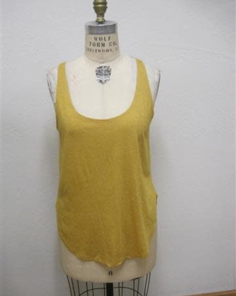 Angie Scoop Neck Knit Tank (X2Y04)