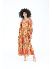 Angie Long Sleeve Crochet Insert Dress (C4239)