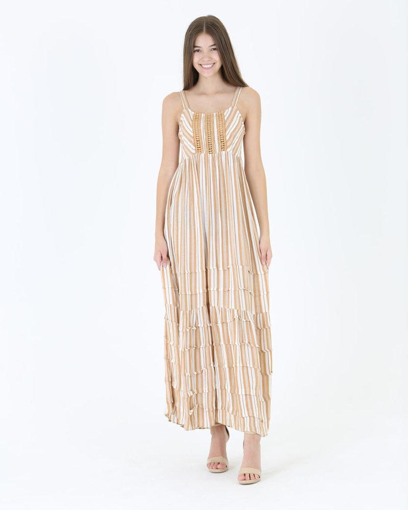 Angie Maxi Yard Dye Dress (C4314)
