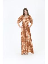 Angie Tie-Dye Maxi Dress (C4346)