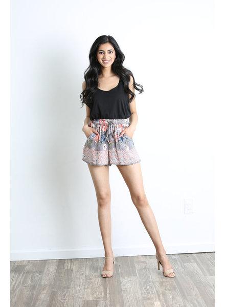 Angie Drawstring Shorts (BS803)