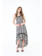 Angie High Low Maxi Dress (C4304)