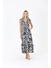 Angie Floral Maxi Dress (C4328)