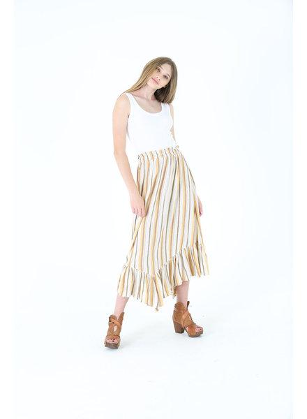 Angie Angled Hem Skirt (B6780)