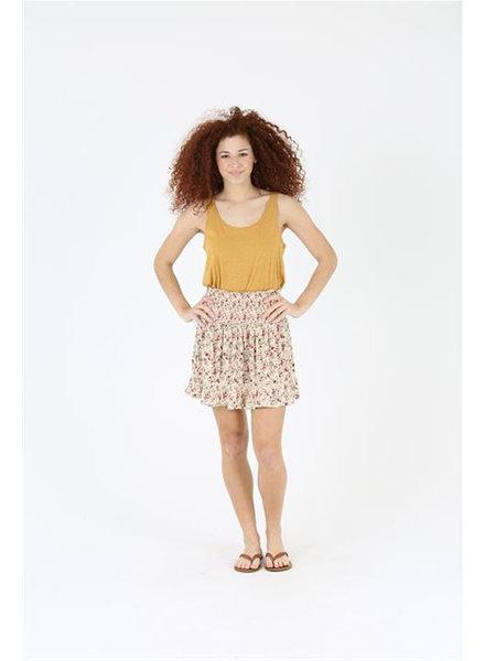 Angie Eyelet Ruffle Skirt (26N28)