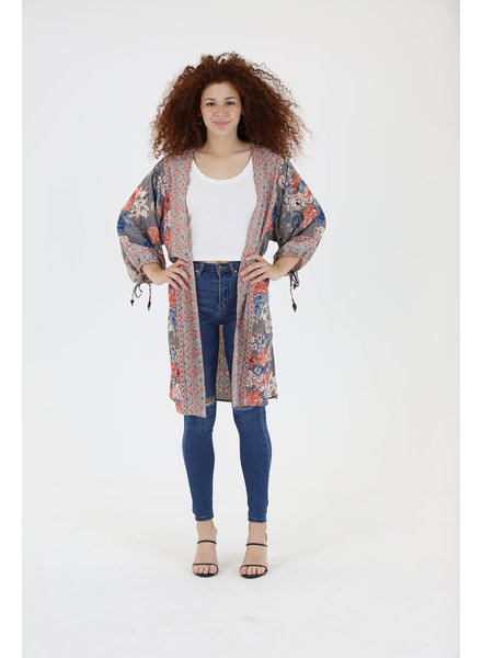 Angie Poet Sleeve Kimono (BJ702)