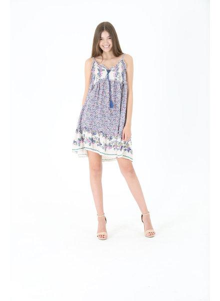 Angie Babydoll Mini Dress (C4233)