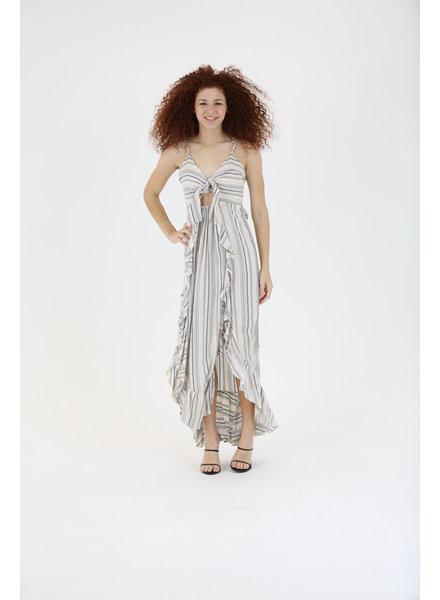 Angie Maxi Keyhole Dress (F4F55)