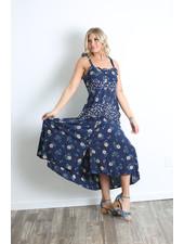 Angie Printed Maxi Dress(F4D33)
