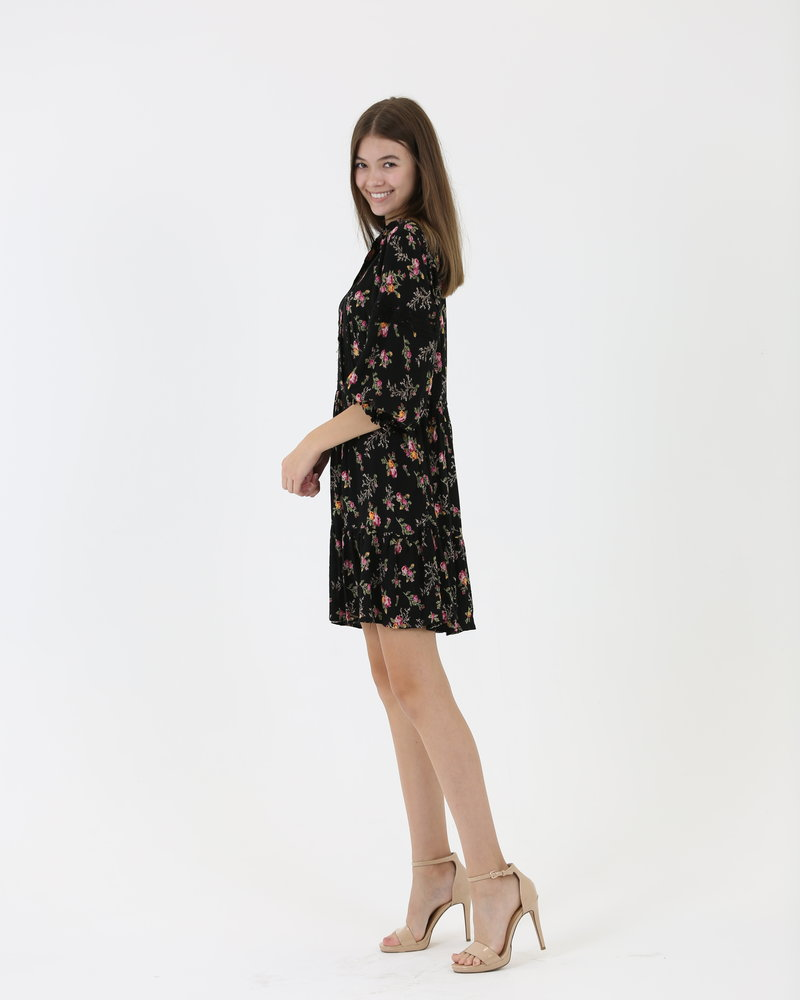 Angie Lace Button Dress (C4384)