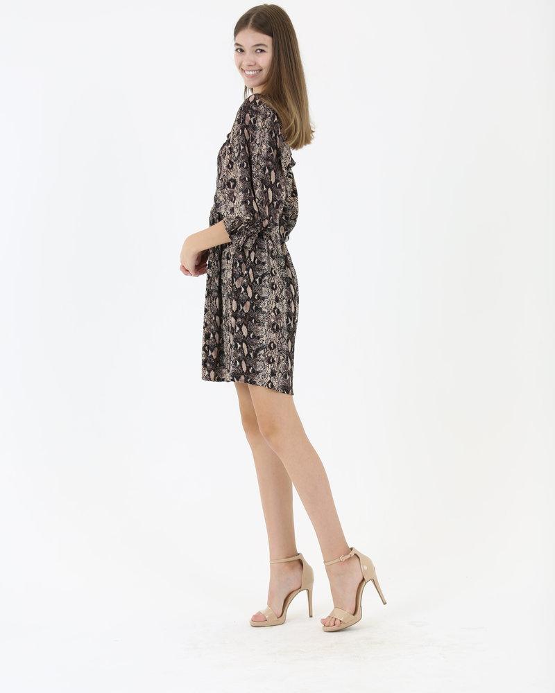 Angie Long Sleeve Dress (C4451)