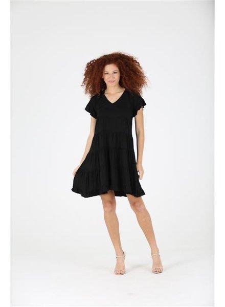 Angie Knit Tiered Dress (X4Y32)