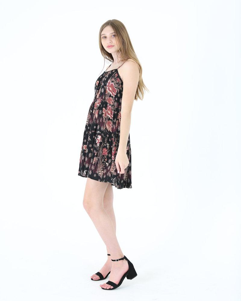 Angie Front Tie Dress (C4216)
