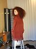 Angie Fringey Knit Sweater (XHF73)