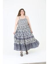 Angie Spaghetti Strap Dress (C9321)
