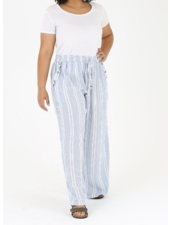 Angie Pants with Button Detail On Pockets (B9344)