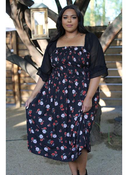 Angie Plus Maxi Dress (F9F27)