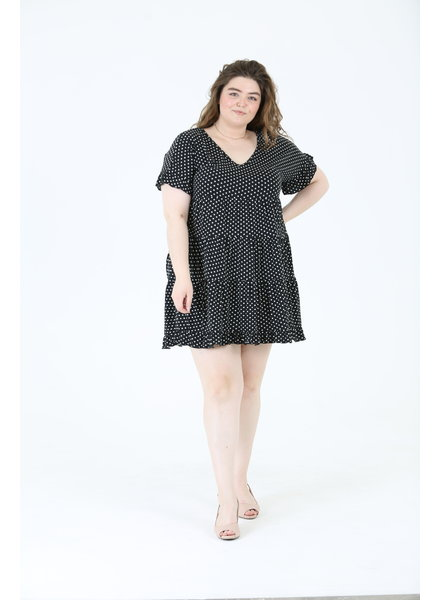 Angie Knit Tiered Dress (X9Y32)