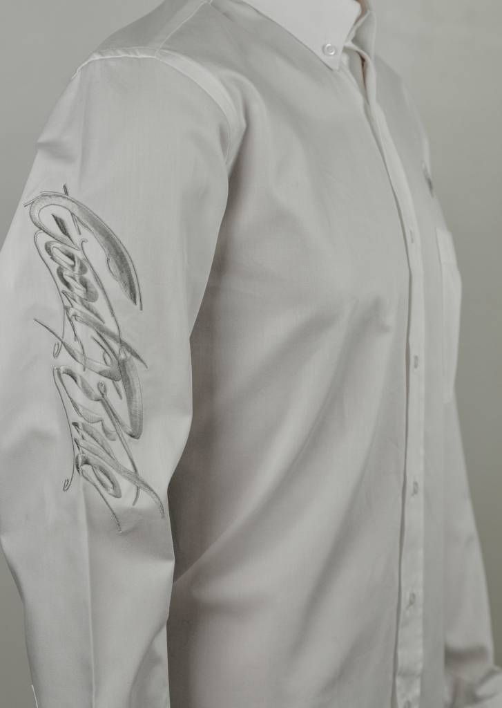 Men's ALL WHITE Show Shirt