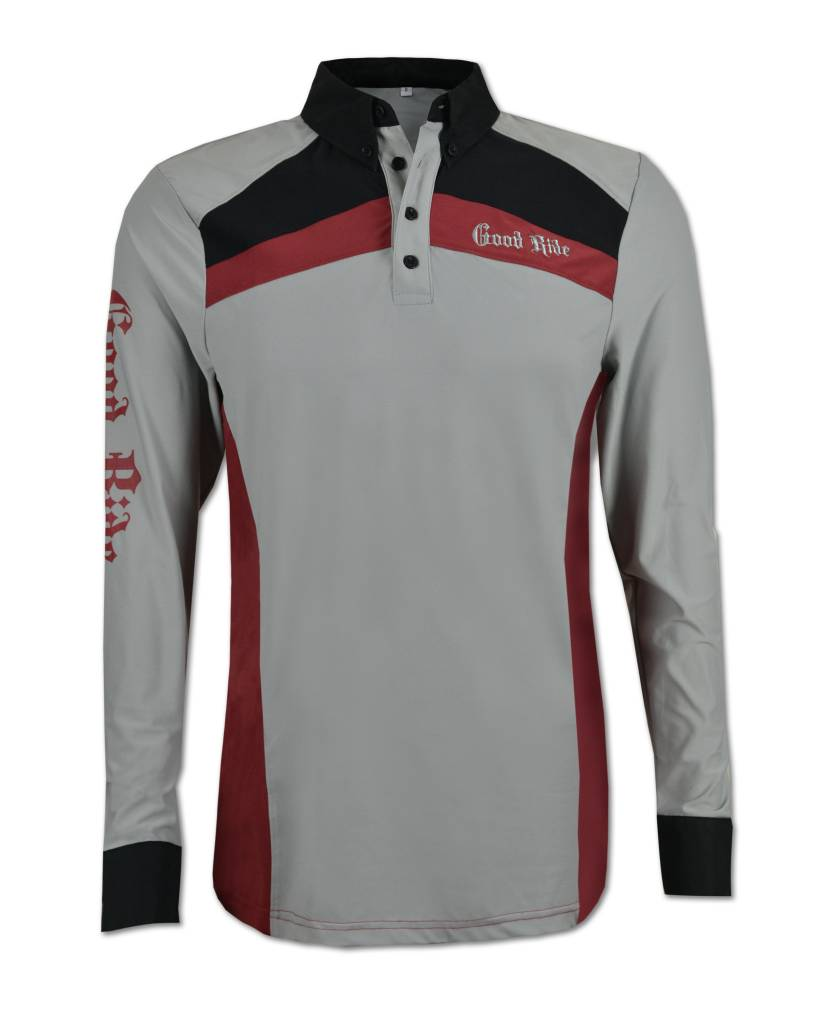 b517a79e Red And Black Polo Shirt | Top Mode Depot