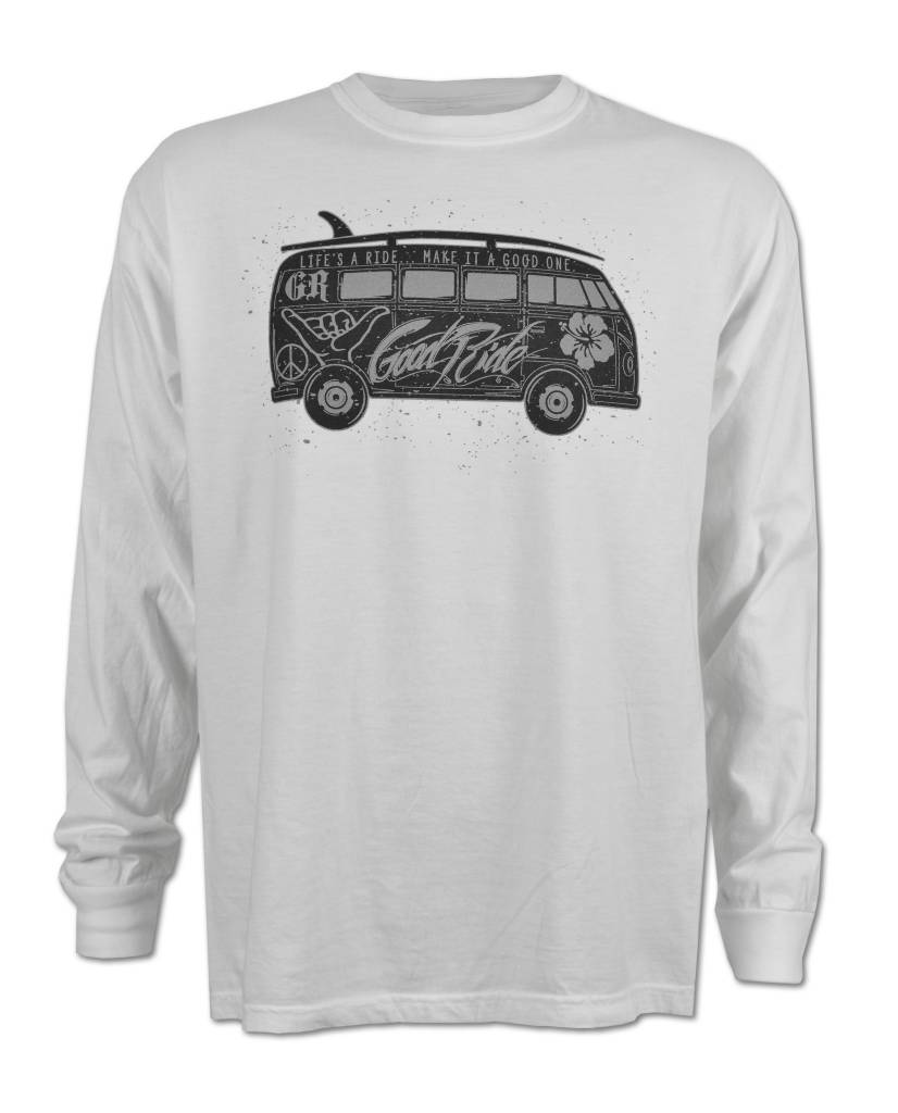 White GR Bus  T-Shirt